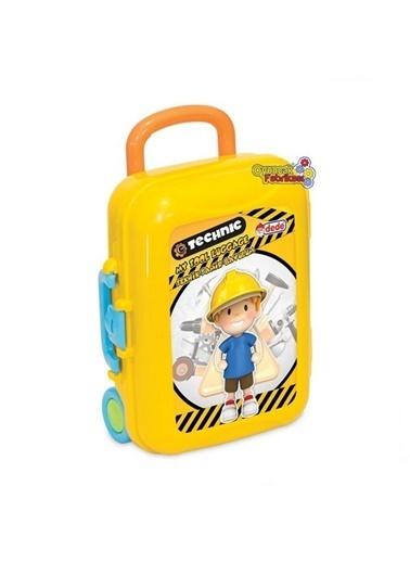 Dede Dede Teknik Tamir Seti Bavulum 13 Parça Çantalı Eğitici Oyuncak Renkli
